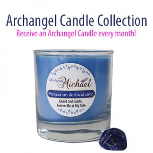 Archangel Candle Collection - Receive a new candle every month automatically - the 13th month receive a bonus candle!