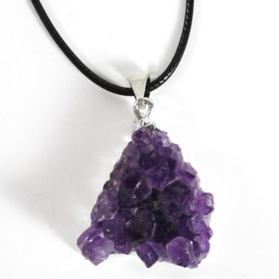Amethyst Cluster Necklace