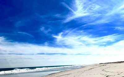 Angels' Presence Above the Beach | Angel Sign
